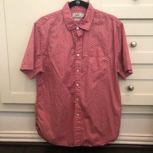 Grayer's Floral Print Short-sleeve Button Up